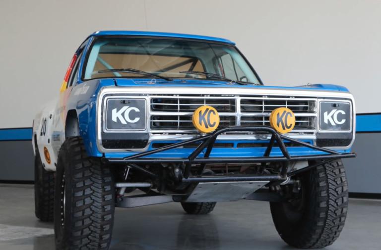 Walker Evans' Baja 1000 Winning 1978 Dodge Ram Pickup