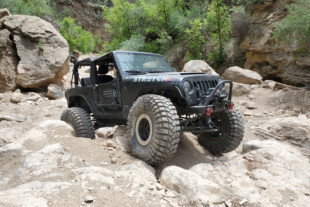 """Boost Activated: Zach Harkness' 2015 Jeep Wrangler JK """"Stretch"""""""