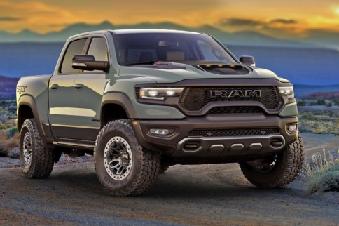 High Bidder: 702hp HEMI Ram TRX Launch Edition Heading To Auction