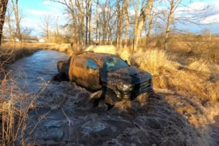 Dirty Work: YouTuber Takes His Ram TRX Mudding