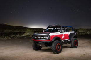 Giddy Up: Ford Performance Unveils Bronco 4600 Race Trucks