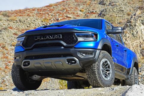Test Drive: 2021 Ram TRX Roars With Boosted 6.2L HEMI V8 Power
