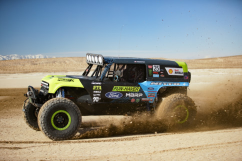 King of Hammers: Ford Unveils Trio of Bronco ULTRA4 4400 Race Trucks