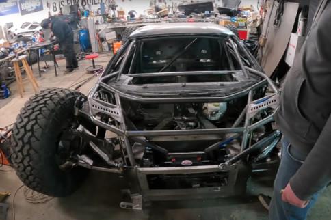 "Video: Setting Up Steering On Off-Road Lamborghini ""Jumpacan"""