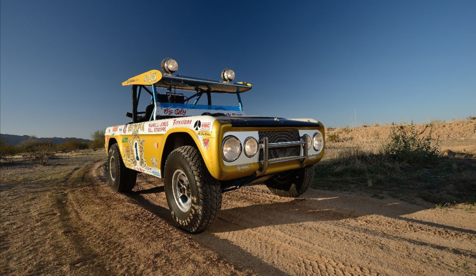 """1969 Ford Bronco """"Big Oly"""" Two-Time Baja 1000 Winner Up For Auction"""