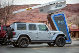 Jeep Creating Charging Station Network For Upcoming 4xe Wrangler