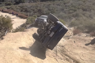 Video: Toyota Tacoma Gets A Disastrous Off-Road Recovery