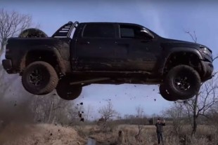 Video: YouTuber Charged With 18 Counts for Jumping a Ram TRX