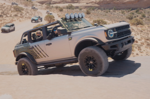 Quick Hit: 2021 Ford Bronco Tackles Hell's Revenge