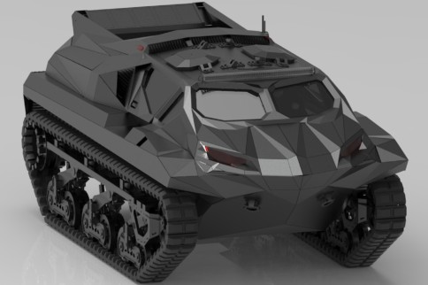 Highland Systems' STORM is an Armored Amphibious MPV