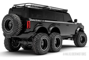 Maxlider Brothers Customs Introduces 2021 Ford Bronco 6X6