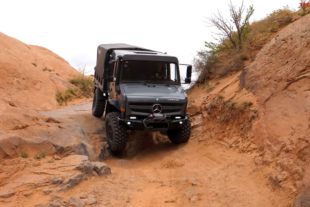 Mercedes Unimog Takes On Hell's Revenge