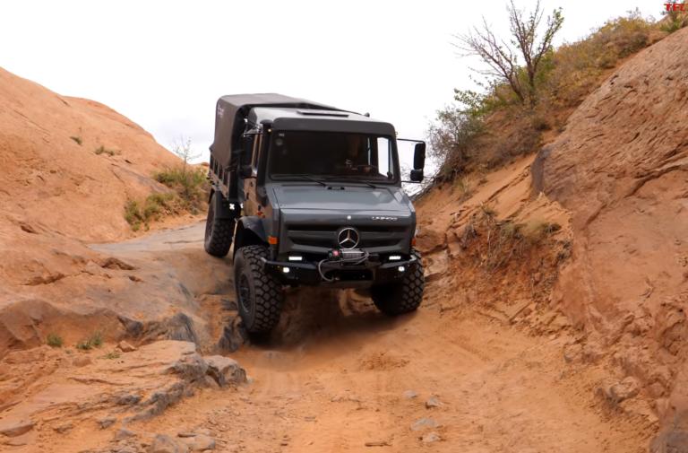 Mercedes Unimog Takes On Hell's Revenge