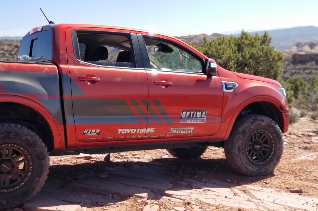 Moab Trails In A Ford Ranger: Off-roading With Christopher Polvoorde