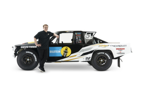 Short Course Racer Ryan Beat Unveils 2021 Livery And Team Partners