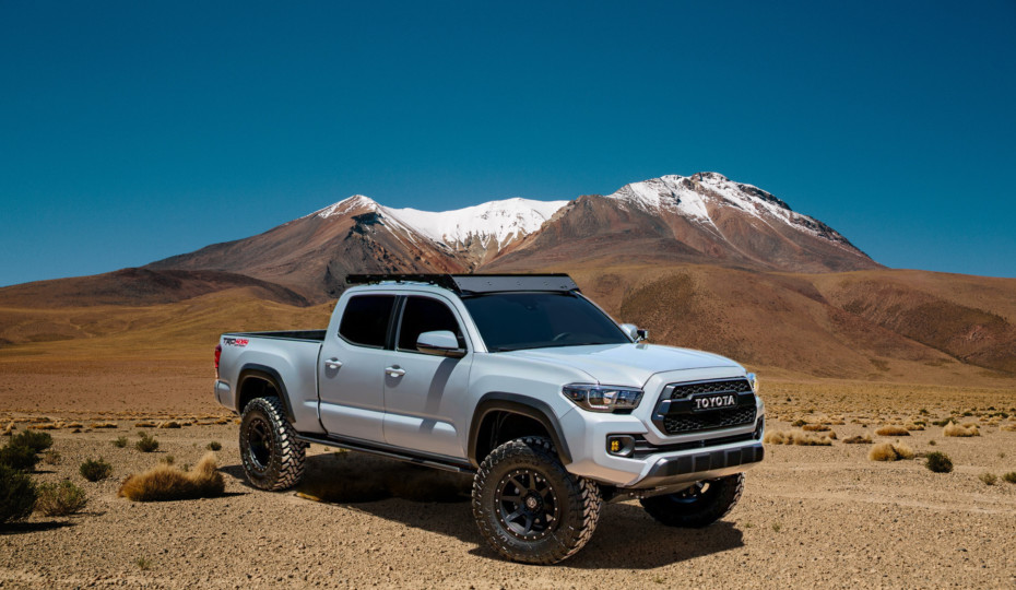 Toyota Tacoma Fabricated Control Arms Released by MaxTrac Suspension