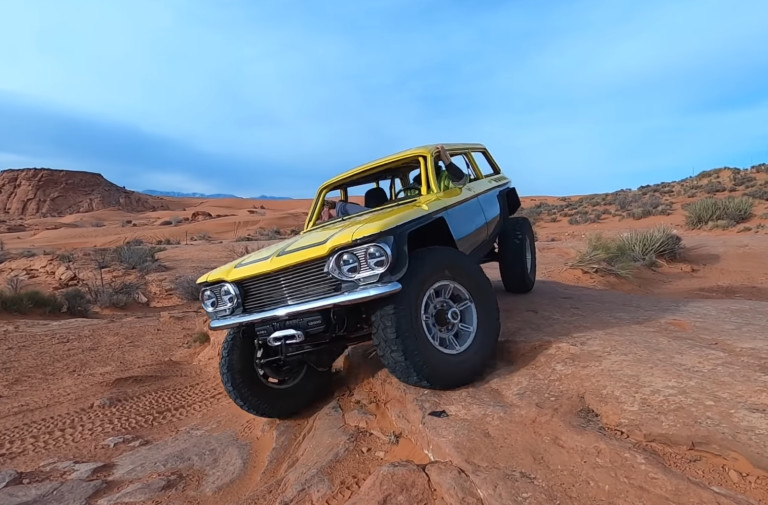 Video: Epic Corvair Build Embarks On Off-Road Maiden Voyage