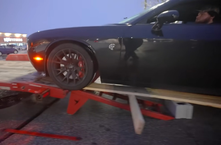 Video: Westen Champlin Buys Challenger Hellcat For 4x4 Project