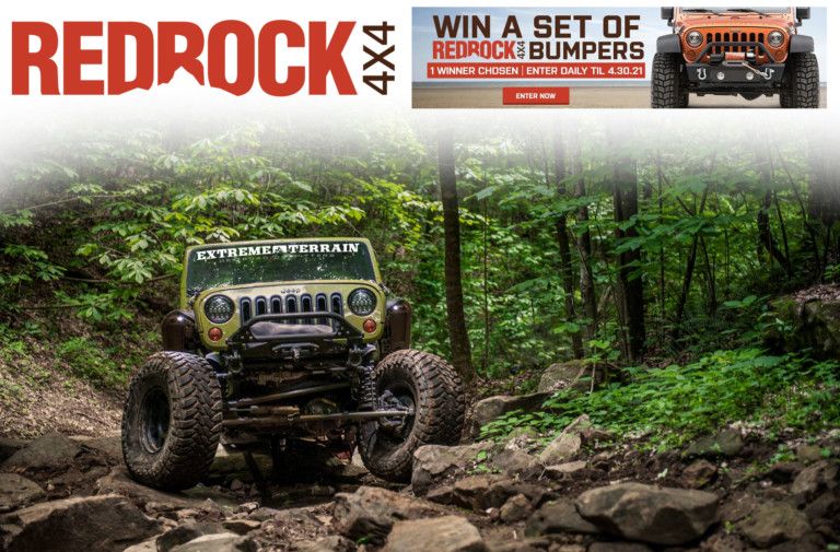 Your Chance To Win $1,000 Worth Of RedRock 4x4 Bumpers!