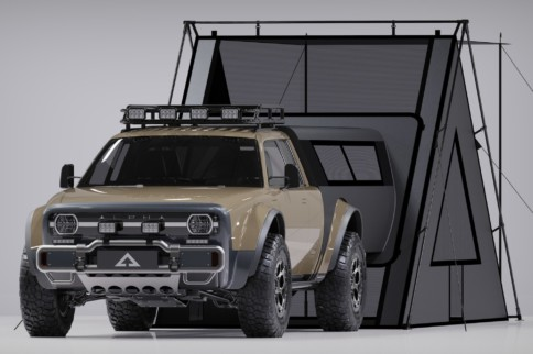Alpha Motor's Wolf+ EV Overland Capable Utility Off-Roader