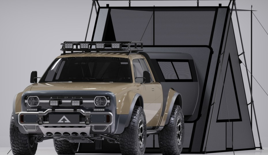 Alpha Motor's Wolf+ EV Overland Capable Utility Off-Roader