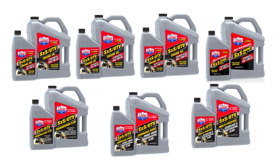 Dial-In Your Off-Road UTV with Lucas Oil Products' SxS Engine Oils