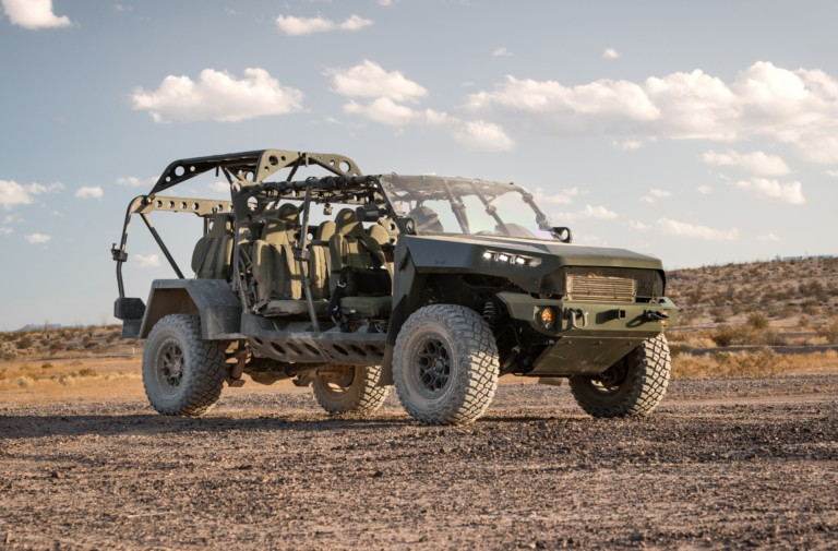GM Defense Infantry Squad Vehicle is a Battle-Ready Colorado