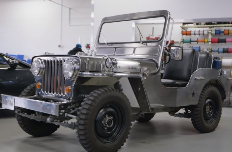Get Behind The Wheel Of This All-Electric Willys Jeep
