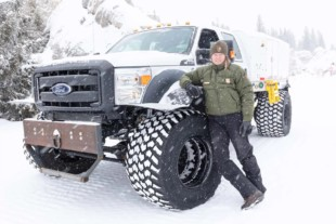 Modified Ford Super Duty Helps Yellowstone National Park Get Mail