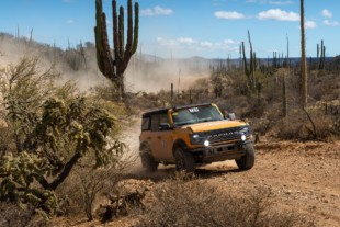 Stock Ford Bronco Secures Podium Finish in NORRA Mexican 1000 Rally