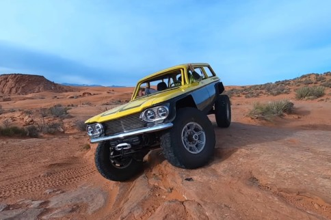 Matt's Off-Road Recovery Builds Epic 4x4 Chevrolet Corvair