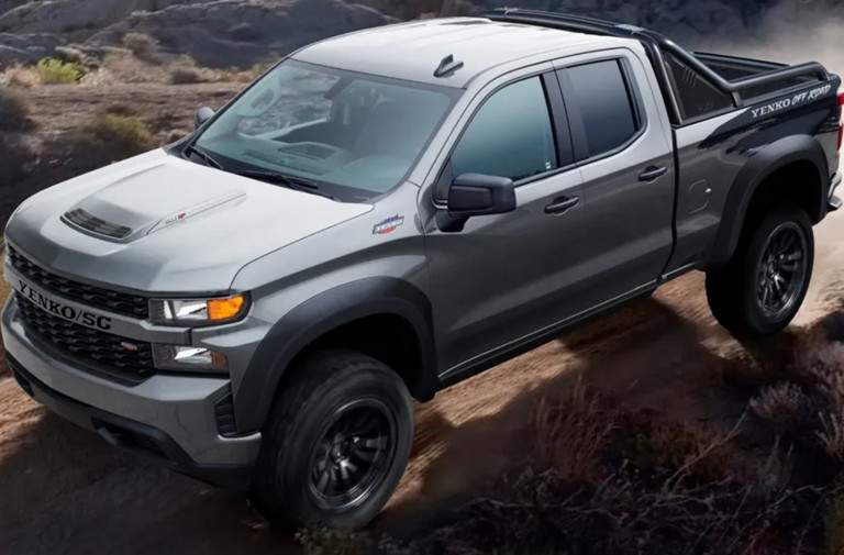 710 HP 2021 Yenko Supercharged Silverado Off-Road is A Beast