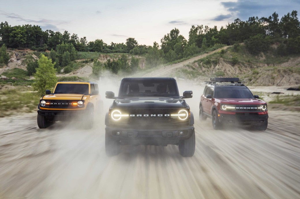 Ford Bronco Production Commences Where It All Began