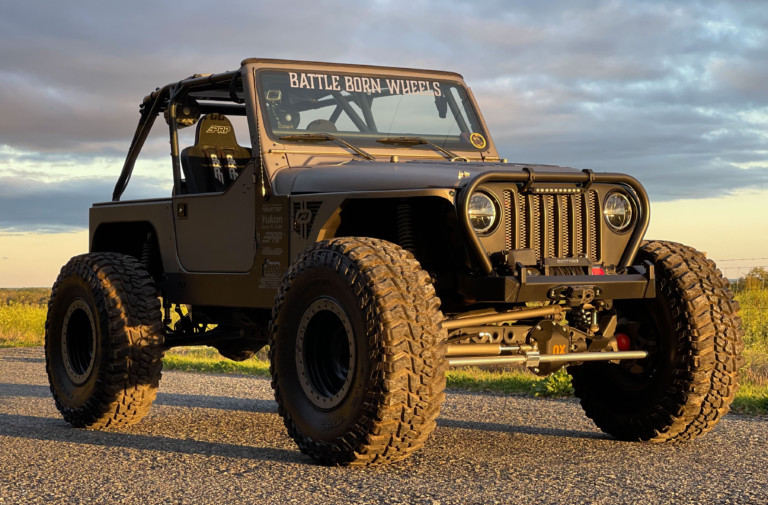 RECOIL_TJ: A Home Built Clean And Capable Trail Rig