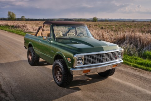 Ringbrothers' 1970 Chevrolet K5 Blazer Restomod Can Be Yours