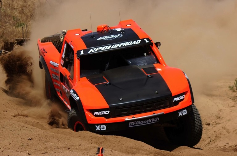 Throwback Thursday: Geiser Bros' Awesome Twin-Engine Trophy Truck