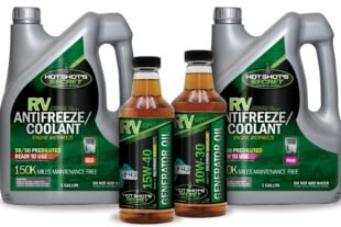 Hot Shot's Secret Drops Full Line Of Diesel And Gas RV Products!