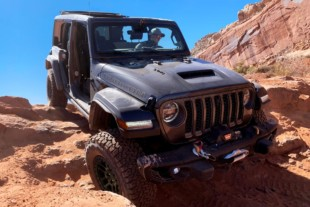 Jeep's Xtreme Recon Package Enhances Wrangler's  Off-Road Capability