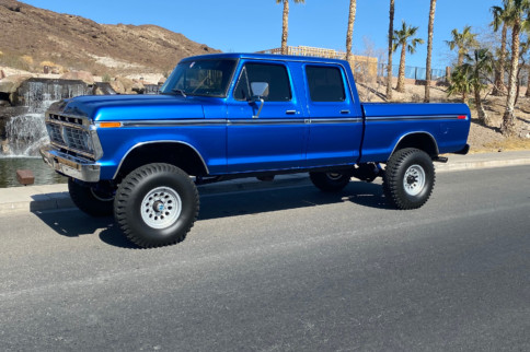 This '77 Ford Crew Cab High Boy 4x4 is a Well-Built Specimen