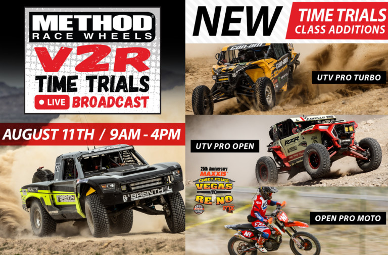 Watch Live Event Coverage For BITD's Vegas to Reno Qualifying