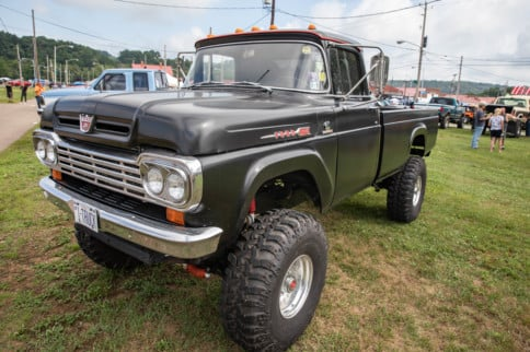 Extra Large And In Charge: Tim Fritz's '59 F-350 Fummins