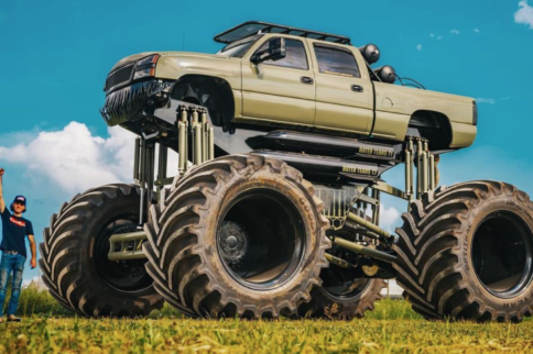 The World's Largest Truck? MonsterMax 2 Has Two Duramax Engines