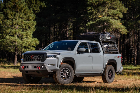 NISMO Your '22 Frontier – New Nissan Off-Road Parts at Overland Expo