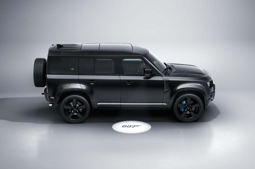 Bond-Worthy: Land Rover Defender V8 Inspired by 25th James Bond Film