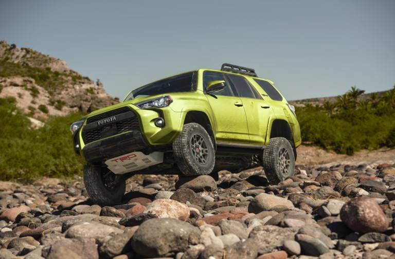 The Latest Addition to 2022 Toyota Family: 4Runner TRD Sport