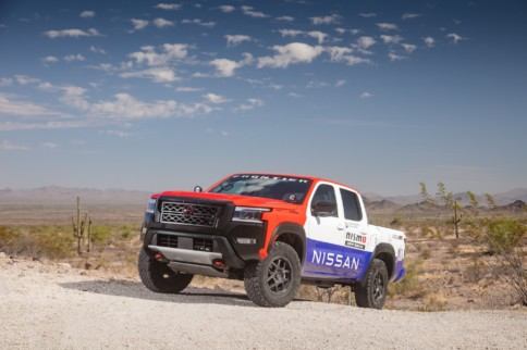 Nissan Unveils Rally-Spec Frontier For 2021 Rebelle Rally