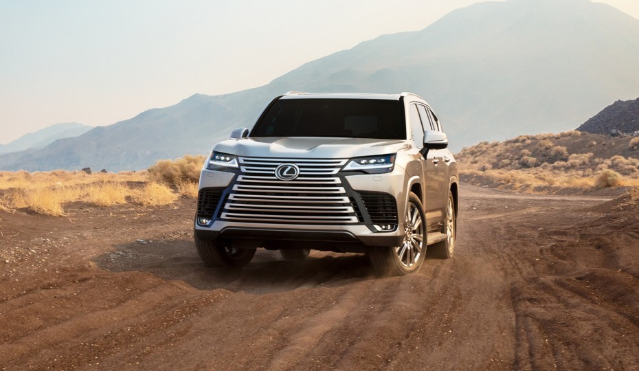 Off-Road Capable Luxury Flagship SUV: 2022 Lexus LX 600