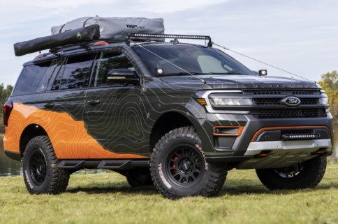 Ford Expedition Timberline Off-Grid Concept Revealed