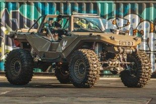 Hoonigan & Microsoft Build a Life-Size 1000 HP Halo Warthog