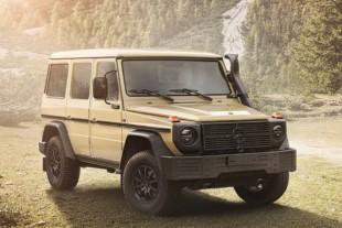 Merc's New W464 Series G-Wagen is a Retro-Modern Military Off-Roader